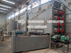 北斗连续式炭化机全面升级创业北京锯末炭化机